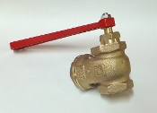 Zuber Pak-Mobile Drain Valve with Handle